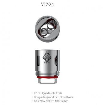 Pack de 3 resistances V12 X4 TFV12 Smoktech