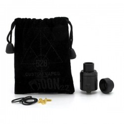Goon RDA 22mm Black 528 Customs