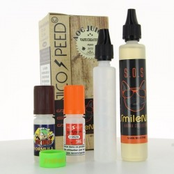 Pack SOS SmileNvape 50ml 03mg