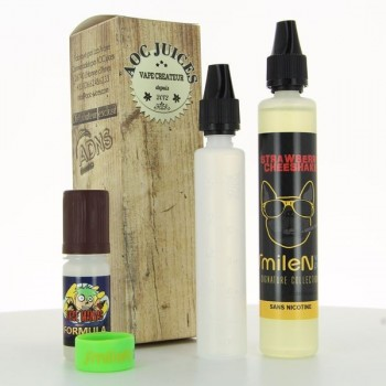 Pack Strawberry Cheeshake SmileNvape 50ml 00mg