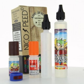 Pack Rainbow Tears Juice Maniac 50ml 03mg