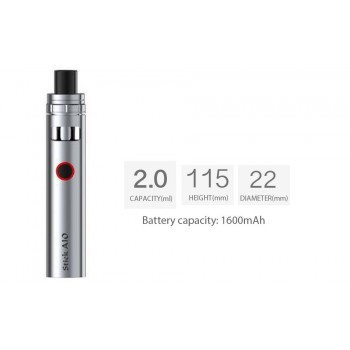 Kit Stick AIO 1600mah Silver Smoktech