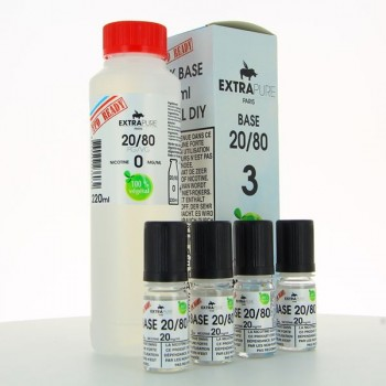 Pack Base 260ml 20/80 03mg Extrapure