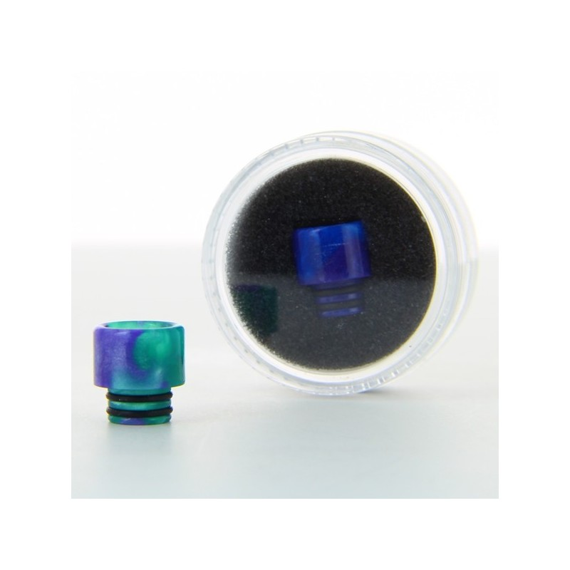 drip tip epoxy resine 510 dual rings adns. Black Bedroom Furniture Sets. Home Design Ideas