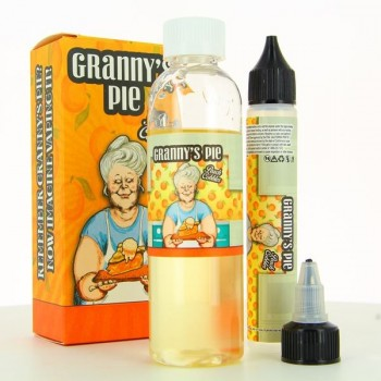 Granny s Pie Peach Cobbler Vape Breakfast 50ml 00mg