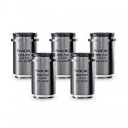 Pack de 5 resistances Stick AIO 0.23ohm Smoktech