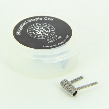 Coil Staggered Staple 0.2ohm Thunderhead