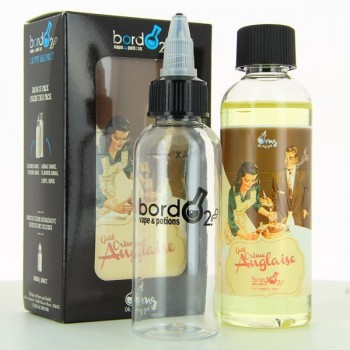 Pack Creme Anglaise ZHC Mix Series Bordo2 Oh My God 100ml 00mg + fiole vide 60ml graduee