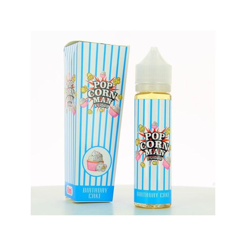 Birthday Cake ZHC Mix Series Pop Corn Man E Liquid 60ml 00mg