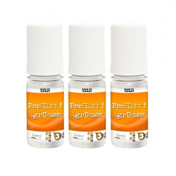 Pschitt Agrumes Back To The Past E Saveur 3X10ml