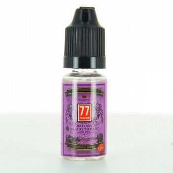 British Blackcurrant Premix Concentre 77 Flavor 10ml