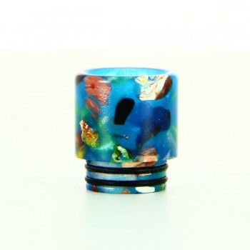 Drip Tip 810 Epoxy Resin Floral TFV8-12