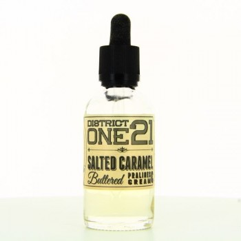 Salted Caramel Buttered ZHC Mix Series District One 21 50ml 00mg