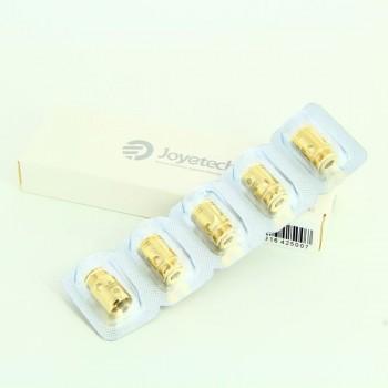 Pack de 5 resistances EX 0.5ohm gold Exceed Joyetech