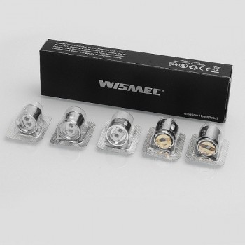 Pack de 5 resistances Dual WM02 0.15ohm Gnome Wismec