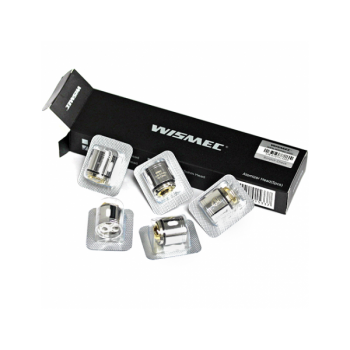 Pack de 5 resistances Triple WM03 0.2 Gnome Wismec
