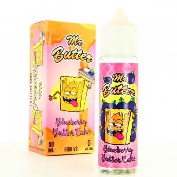 Blueberry Butter Cake ZHC Mix Series Mr Butter 50ml 00mg