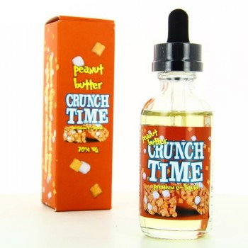 Crunch Time Peanut Butter ZHC Mix Series California Vaping Co 50ml 00mg