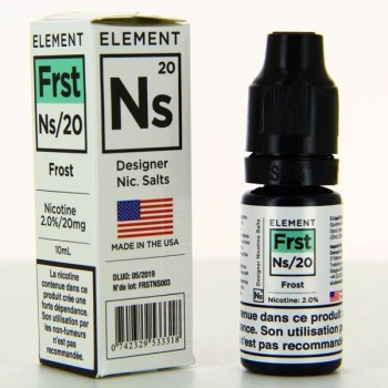 Frost Designer Nic Salts Element 10ml 20mg