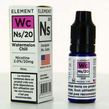 Watermelon Chill Nic Salts Element 10ml 20mg
