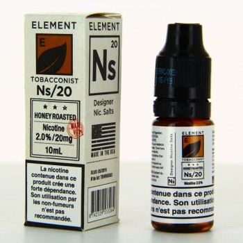 Honey Roasted Nic Salts Element 10ml 20mg