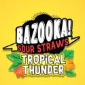 Tropical Thunder Bazooka Sour Straws