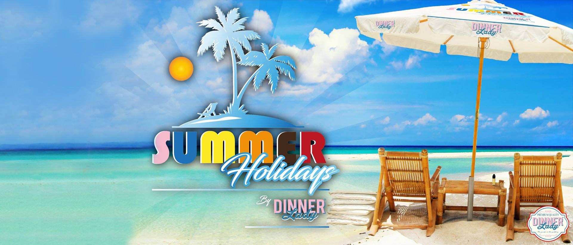 Prolongez l'été avec les nouveaux Dinner Lady !