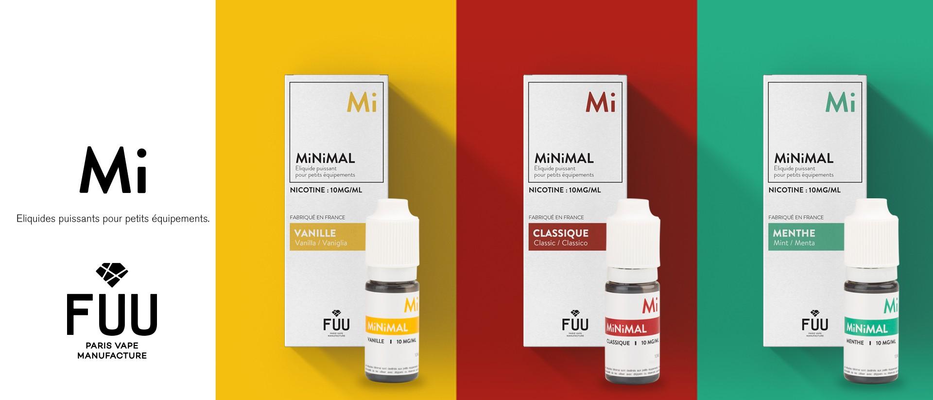 La nouvelle gamme à base de sel de nicotine par THE FUU